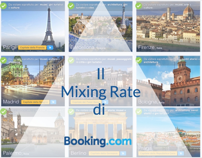 IIl Mixing Rate di Booking.com